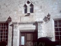 Вэту синагогу нас не пустили.