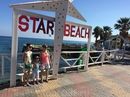 пляж Star Beach. Интересное местечко - провели там весь день и не заметили) Есть маленькая аква-зона для детишек) нам хватило одной горки для полного восторга ))