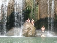 2 уровень водопада Эраван
