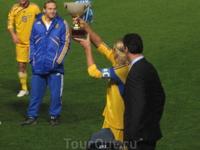 Мы выиграли Cup of Cyprus образца 2009 года П.С. а также образца 2011 года! :)