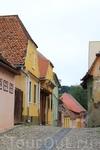 Сигишоара. город является памятником всемирного наследия человечества ЮНЕСКО