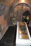 Рипсимэ и Гаянэ постигла мученическая смерть, а на их захоронениях были построены одноименные церкви. Мощи этих Святых по сей день хранятся в данных храмах ...