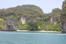 Хонг со стороны моря