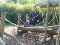 детский уголок в зоопарке