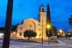 Кома Руга.Ночь.Церковь. Точнее, это уже район Эль Франс.