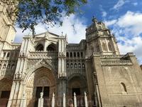 Известно, что первую церковь здесь строили римляне, но в 587 году храм уже был перестроен вестготами. Вестготская церковь носила название Санта-Мария-дель-Реаль ...
