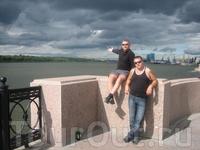 набережная Волги в Астрахани
