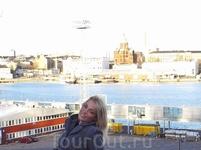 Порт в ХЕЛЬСИНКИ (перед отплытием в Таллин)