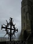 Пасмурная погода придала стенам аббатства еще более готический вид