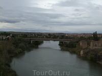 Толедо. Вид с  моста Сан Мартин
