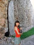 в стенах крепости