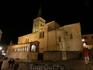 Iglesia de San Martín nocturna.