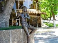 Скульптура Мальчик с флейтой