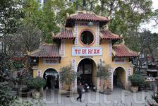 старая пагода Куансу в Ханое