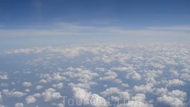 По старой доброй традиции - фото из самолета