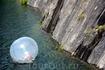 Помимо прогулки на лодке, здесь можно  побарахтаться в прозрачном шаре - зорбе :) Детишки в восторге от этого удовольствия. Также в Горном парке Рускеала ...