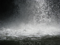 Водопад Корбу - самый его низ
