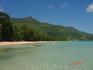 На Маэ больше всего понравился пляж Бо Валлон. Теплая, прозрачная вода , практически нет волн. Протяженность пляжа три километра