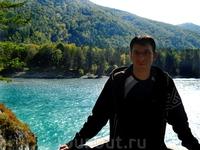 Путешествие на Алтай.Река Катунь