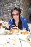 бигос и суп из шампиньонов в хлебной кастрюльке (Вавель. Краков)