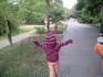 В парке. Человек-паук