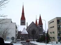 Костел в Тампере