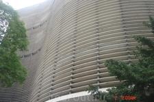 """Сан-Паулу. Дом Копан. Жилой дом построенный в виде латинской буквы  """"S"""", является самой большой железобетонной постройкой"""