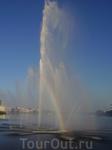 Один из фонтанов в Казани