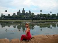 Ангкор Ват во всей красе.