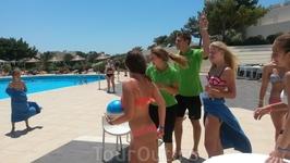 Пляжные конкурсы Клуба Салют