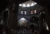 Второй этаж католического храма в Назарете