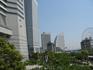 Мы любовались Токийским заливом со смотровой площадки башни Лэндмарк Тауэр.