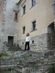 двор замка Свирж