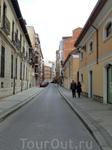 Так выглядят улицы Вальядолида в обеденное время в субботу - чисто и безлюдно.