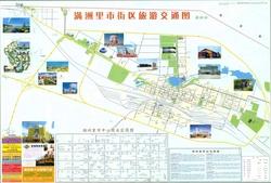 Карта города Маньчжурия