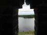 Вид со стены Соловецкого монастыря.