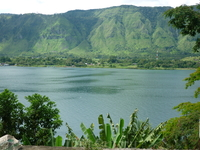 о. Самосир на озере Тоба