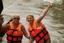 Улетное приключение,плыть 3 км по реке,интересно,а кто водится в этих мутных водах.Может кто-нибудь встречал кого-нибудь?