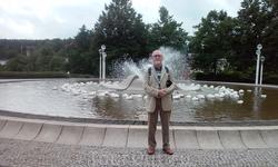 Парк. Светомузыкальный фонтан.