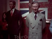 Принц Чарльз и актер Шварцнеггер
