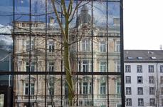 Инсбрук. Архитектура - это музыка не только в камне, но вот ещё и в стекле.