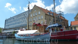 Копенгаген, каналы.