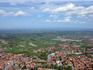 Вид на окрестности Сан-Марино