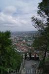 Смотровая площадка. Панорама Тбилиси.