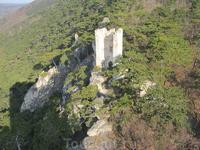 вид из башни замка Раухенштайн