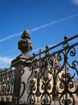 ограда в парке Фонтенбло