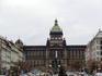Национальный музей----(Витезнего унора)- доминанта Вацлавской площади. Монументальное здание в стиле неоренессанса, построенное в 1885—1890 гг. арх. Й ...