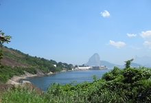 Уезжаем из крепости обратно в Рио