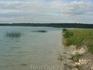 Единственные на Северо-Западе России Голубые озера (Кюрлевские карьеры), исток Оредежа. На дне искусственно созданных озер залегают синие кембрийские глины ...