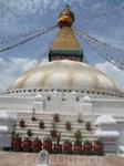 Ступа Буднат - кусочек Тибета в Катманду